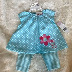 Other - BNWT top and leggings baby girl set
